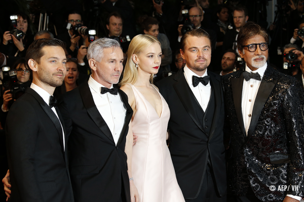 The cast of The Great Gatsby at the Cannes Festival