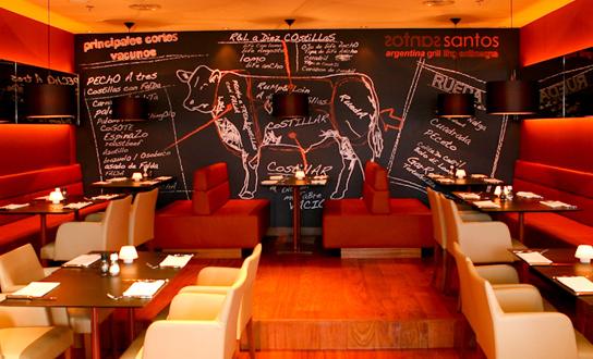 Argentinian restaurant Santos