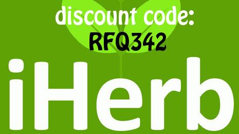 iHerb discount code: RFQ342