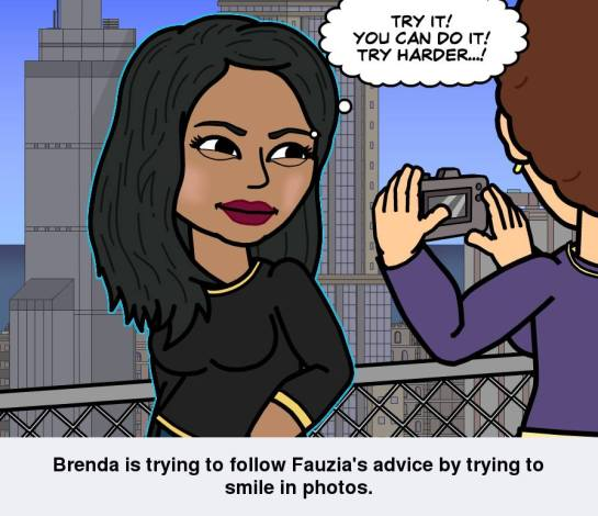 Brenda's Bitstrip cartoon
