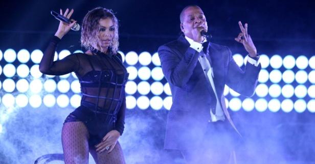 Beyonce & JayZ Grammys 2014-3