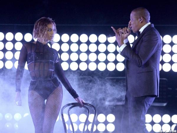 Beyonce & JayZ Grammys 2014-4