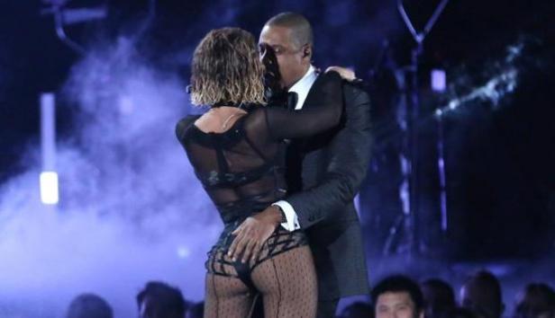 Beyonce & JayZ Grammys 2014-2
