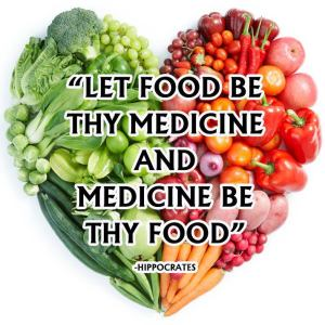 Hippocrates Quote - Let Food Be Thy Medicine