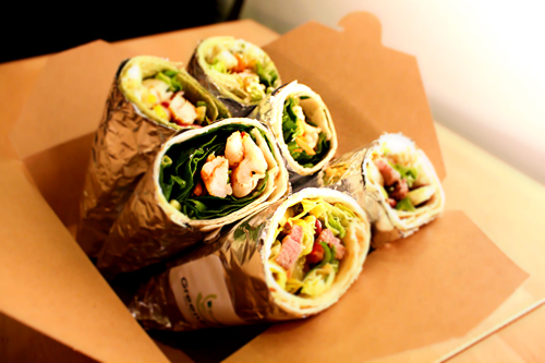 Green Bowl Gourmet Wraps