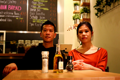 Green Bowl owners: Soontat Yeung & Liting Leow