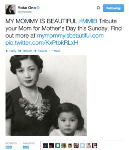 Yoko Ono #MMIB