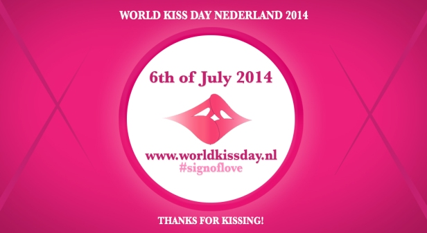 World Kiss Day Logo